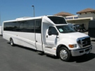 Ford F650 39 passenger charter shuttle coach bus for sale - Diesel