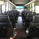 Ford F650 39 passenger charter shuttle coach bus for sale - Diesel 7