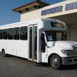 International UC 24 passenger charter shuttle coach bus for sale - Diesel 1