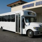 International UC 24 passenger charter shuttle coach bus for sale - Diesel 1