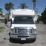 Ford E450 18 passenger charter shuttle coach bus for sale - Gas 3