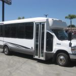 Ford E450 18 passenger charter shuttle coach bus for sale - Gas 1