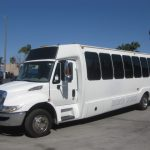 International 3200 32 passenger charter shuttle coach bus for sale - Diesel 2