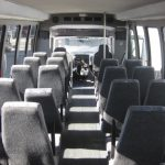 International 3200 32 passenger charter shuttle coach bus for sale - Diesel 6