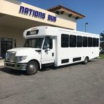 International UC 24 passenger charter shuttle coach bus for sale - Diesel 3
