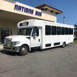 International UC 26 passenger charter shuttle coach bus for sale - Diesel 3