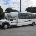 Ford F550 30 passenger charter shuttle coach bus for sale - Diesel 2