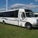 International 3200 36 passenger charter shuttle coach bus for sale - Diesel 1
