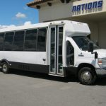 Ford E450 26 passenger charter shuttle coach bus for sale - Gas 1