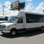 Ford E450 26 passenger charter shuttle coach bus for sale - Gas 3