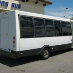Ford E450 26 passenger charter shuttle coach bus for sale - Gas 5