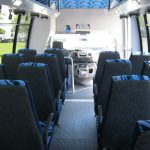 Ford E450 26 passenger charter shuttle coach bus for sale - Gas 7