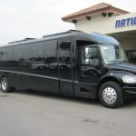 Freightliner M2 40 passenger charter shuttle coach bus for sale - Diesel 1
