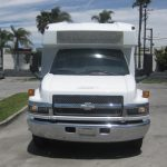 Chevy C5500 25 passenger charter shuttle coach bus for sale - Diesel 3