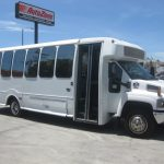 Chevy C5500 25 passenger charter shuttle coach bus for sale - Diesel 1