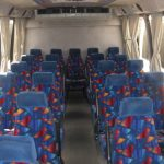Chevy C5500 25 passenger charter shuttle coach bus for sale - Diesel 5