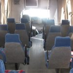 Chevy C5500 25 passenger charter shuttle coach bus for sale - Diesel 6