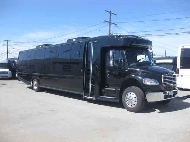 Freightliner 48 passenger charter shuttle coach bus for sale - Diesel