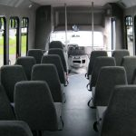 Ford E450 28 passenger charter shuttle coach bus for sale - Gas 8