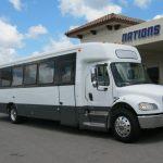 Freightliner 43 passenger charter shuttle coach bus for sale - Diesel 1