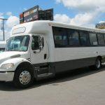 Freightliner 43 passenger charter shuttle coach bus for sale - Diesel 3