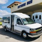 Chevy C3500 13 passenger charter shuttle coach bus for sale - Gas 1