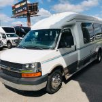 Chevy C3500 13 passenger charter shuttle coach bus for sale - Gas 3