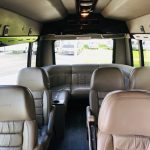 Chevy C3500 13 passenger charter shuttle coach bus for sale - Gas 4