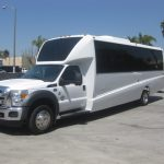 Ford F550 32 passenger charter shuttle coach bus for sale - Diesel 2