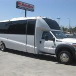 Ford F550 32 passenger charter shuttle coach bus for sale - Diesel 1