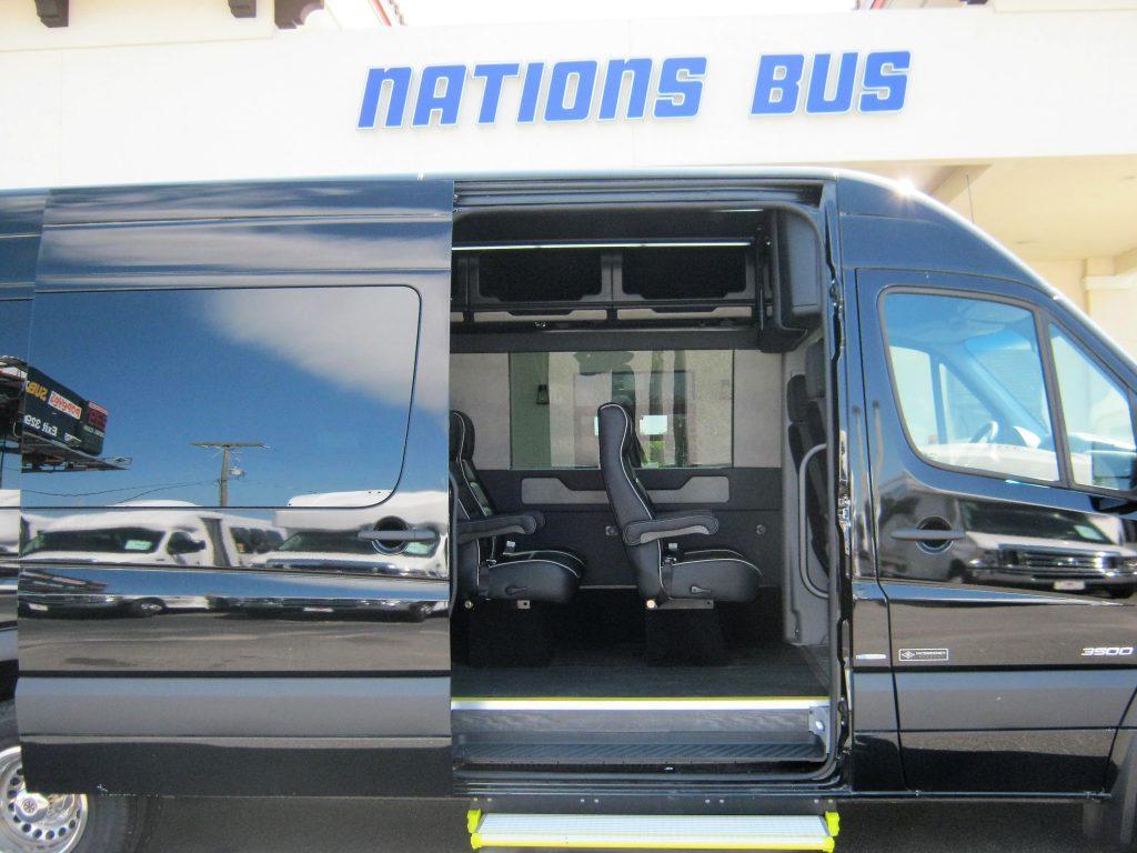 Nations Bus 2018 Mercedes 3500 14 Passengers Diesel