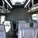 Mercedes 3500 14 passenger charter shuttle coach bus for sale - Diesel 7