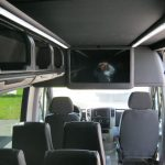 Mercedes 3500 14 passenger charter shuttle coach bus for sale - Diesel 8
