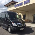 Freightliner 13 passenger charter shuttle coach bus for sale - Gas 2