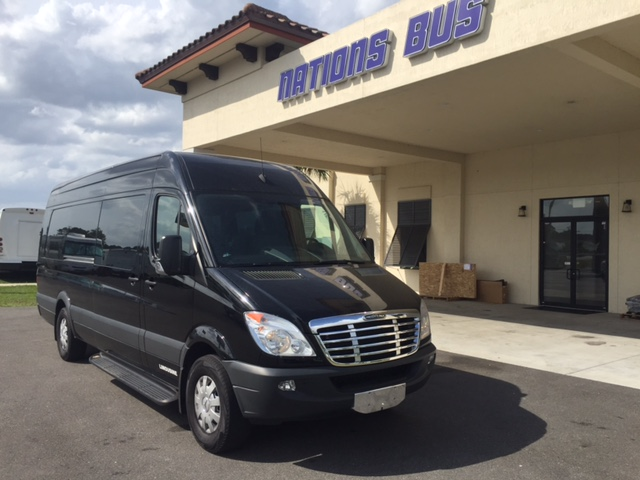 2013 mercedes benz sprinter limousine nations bus for Mercedes benz emergency number