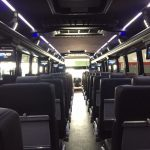 Freightliner M2 48 passenger charter shuttle coach bus for sale - Diesel 4