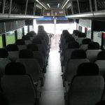 Freightliner XB-R 41 passenger charter shuttle coach bus for sale - Diesel 6