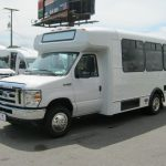 Ford E350 14 passenger charter shuttle coach bus for sale - Gas 3