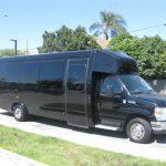 Ford E450 24 passenger charter shuttle coach bus for sale - Gas 1