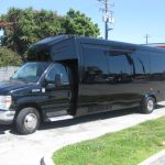 Ford E450 24 passenger charter shuttle coach bus for sale - Gas 2