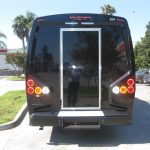 Ford E450 24 passenger charter shuttle coach bus for sale - Gas 4