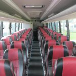 BCI 57 passenger charter shuttle coach bus for sale - Diesel 6