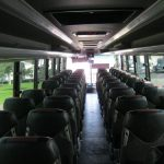 BCI 57 passenger charter shuttle coach bus for sale - Diesel 7