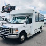 Ford E-450 12 passenger charter shuttle coach bus for sale - Gas 3