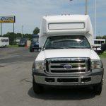 Ford F550 28 passenger charter shuttle coach bus for sale - Diesel 2
