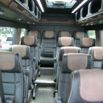 Mercedes 3500 16 passenger charter shuttle coach bus for sale - Diesel 5