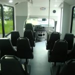 Ford E-450 12 passenger charter shuttle coach bus for sale - Gas 7