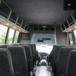 Ford F550 28 passenger charter shuttle coach bus for sale - Diesel 7