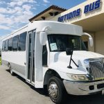 International 3200 32 passenger charter shuttle coach bus for sale - Diesel 1