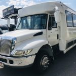 International 3200 32 passenger charter shuttle coach bus for sale - Diesel 8